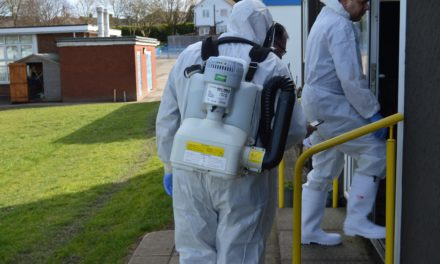 Rapid Response Workplace Sanitization
